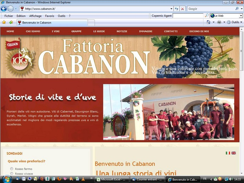 Website italie